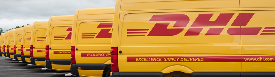 DHL-levering